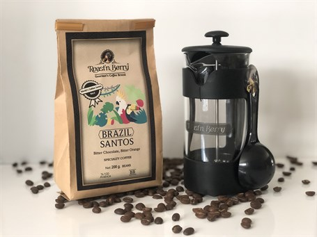 BRAZİL SANTOS KAHVE + FRENCH PRESS