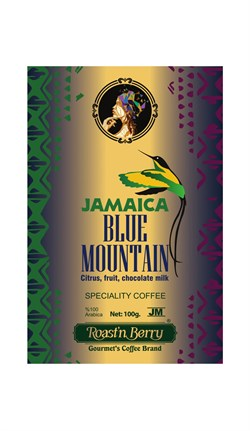 JAMAICA BLUE MOUNTAIN 100 GR